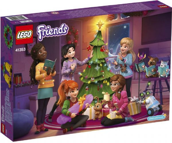 Image of   LEGO Friends Julekalender - LEGO Friends julekalender 41353