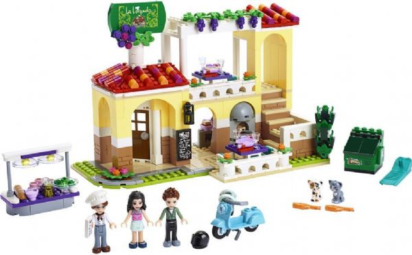 Image of Heartlake restaurant - Lego Friends 41379 (22-041379)