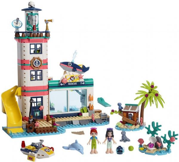 Image of   Fyrtårn med redningscenter - LEGO Friends 41380