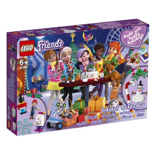 Image of   LEGO Friends Julekalender 2019 - LEGO Friends julekalender 41382