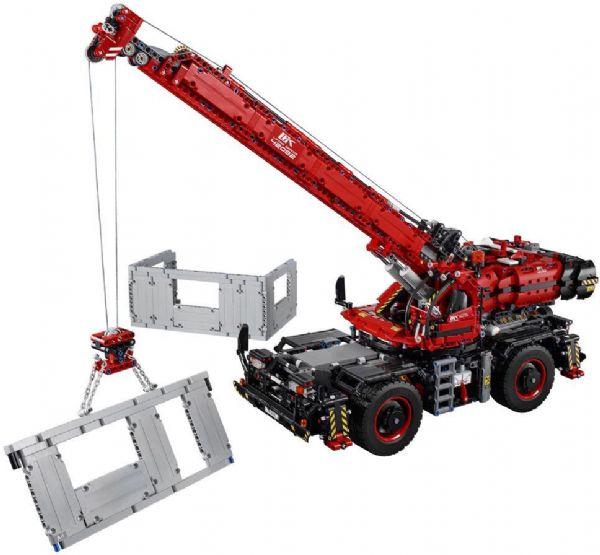 Terrængående kran - LEGO Technic 42082 - Byggeklodser - LEGO
