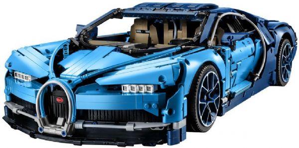 Bugatti Chiron - LEGO Technic 42083 - Byggeklodser - LEGO