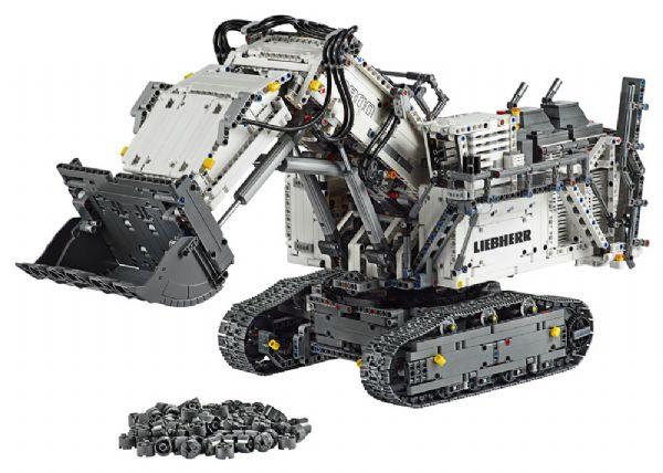 Image of   Liebherr R 9800 gravemaskine - LEGO Technic 42100