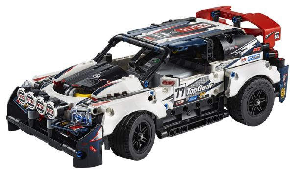 Image of   App-styret Top Gear-rallybil - LEGO Technic 42109