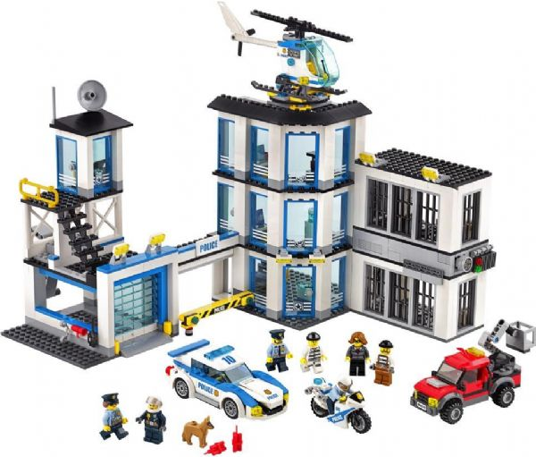 Image of   LEGO Politistation 60141 - LEGO City 60141 Politi