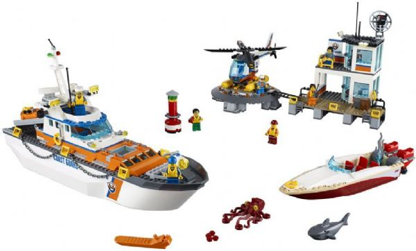 Image of   Kystvagtens hovedkvarter - LEGO 60167 City Coast Guard