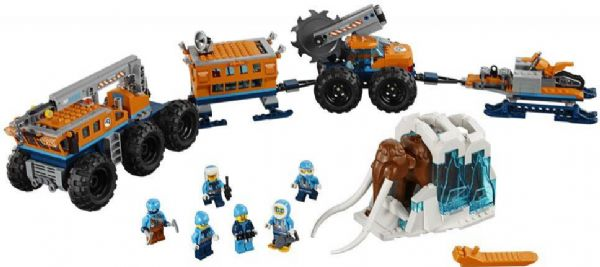 Image of   Mobil polarforskningsbase - LEGO City Arctic Expedition 60195