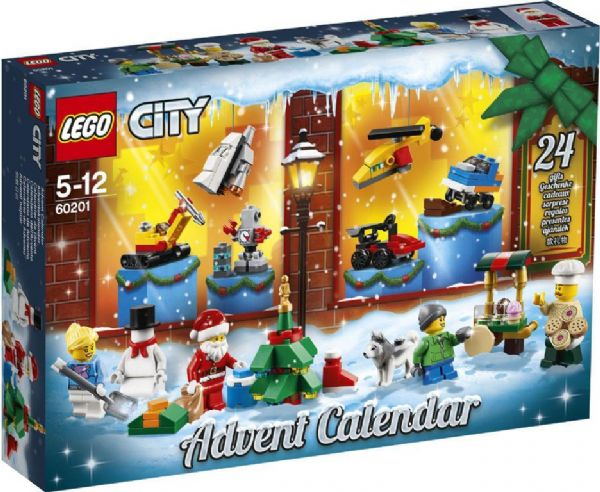 Image of   LEGO City Julekalender - LEGO City julekalender 60201