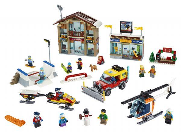 Skisportssted - LEGO City 60203 - - LEGO
