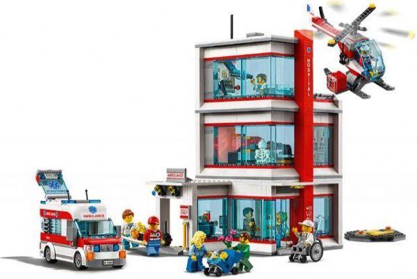 lego Lego® city hospital - lego city 60204 på eurotoys