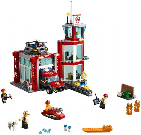 Image of   Brandstation - LEGO City 60215