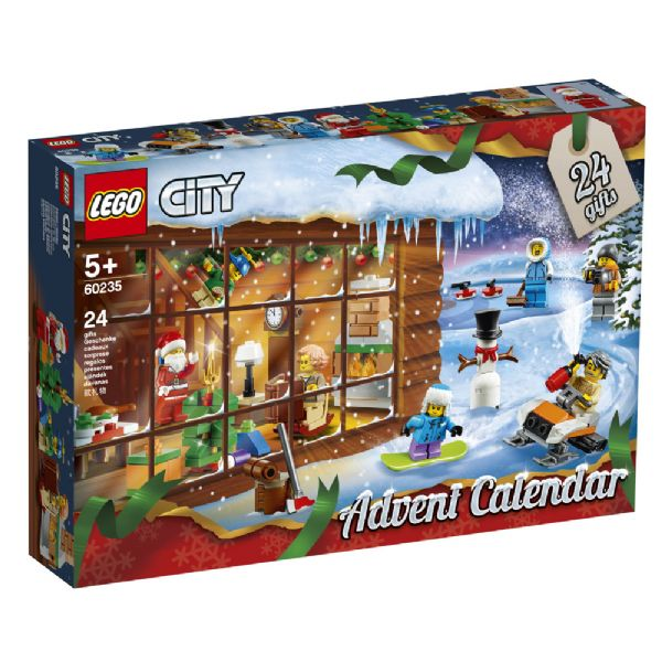 Image of   LEGO City Julekalender 2019 - LEGO City julekalender 60235