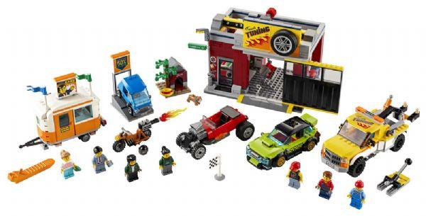 Motorværksted - LEGO City 60258 - Byggeklodser - LEGO