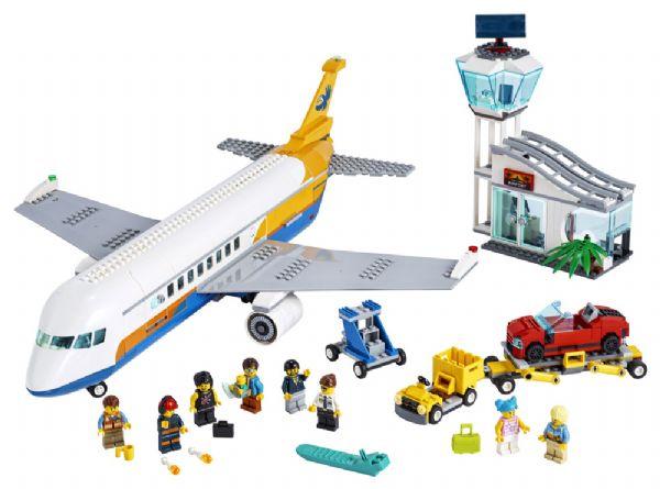 Passagerfly - LEGO City 60262 - Byggeklodser - LEGO