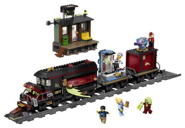 Spøgelsesekspressen - LEGO Hidden Side 70424 - - LEGO