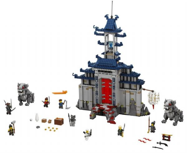 Image of Det ultimative våbens Tempel - LEGO 70617 Ninjago Movie (22-070617)