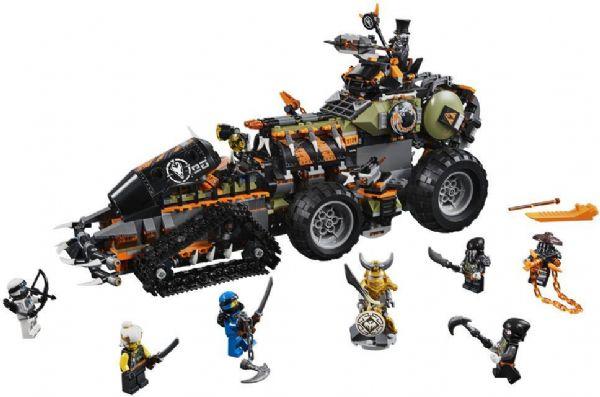 Image of Dieselnaut - LEGO Ninjago 70654 (22-070654)