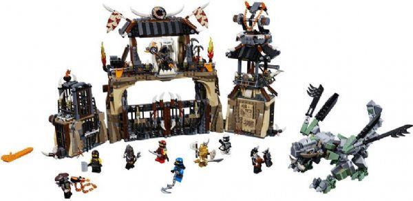 Image of Dragegård - LEGO Ninjago 70655 (22-070655)