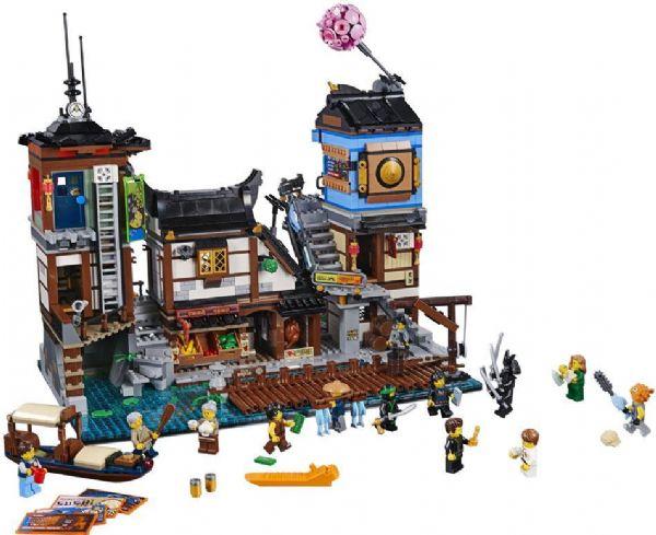 Image of NINJAGO® City havn - LEGO Ninjago 70657 (22-070657)