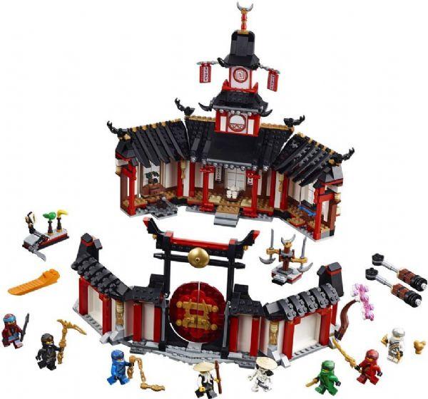 Spinjitzu-klosteret - lego ninjago 70670 fra lego på eurotoys