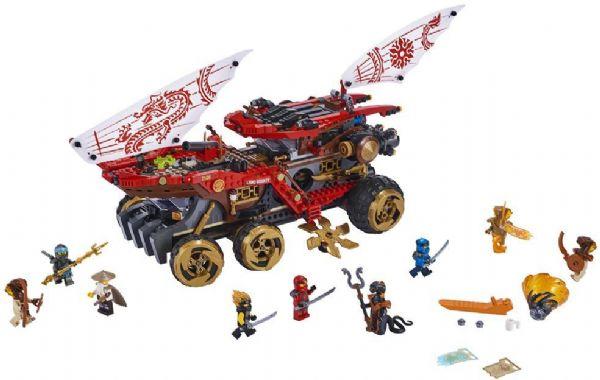 Skæbnerulleren - LEGO Ninjago 70677 - Byggeklodser - LEGO