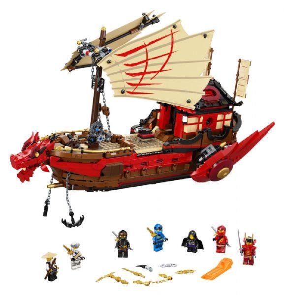 Skæbnebåden - LEGO Ninjago 71705 - Byggeklodser - LEGO