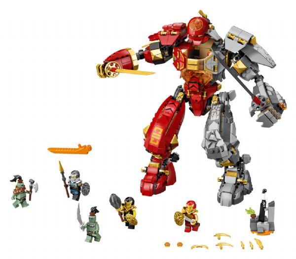 Ildstensrobot - LEGO Ninjago 71720 - Byggeklodser - LEGO