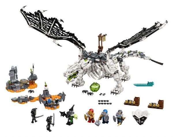 Kranietroldmandens drage - LEGO Ninjago 71721 - Byggeklodser - LEGO