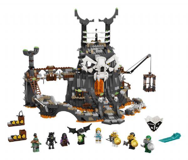 Kranietroldmandens fangekældre - LEGO Ninjago 71722 - Byggeklodser - LEGO