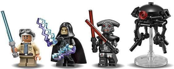 Tracker I - LEGO 75185 Star Wars Classic - Byggeklodser - LEGO