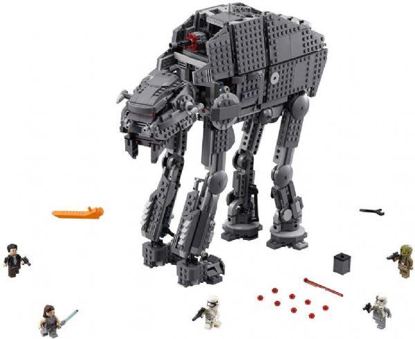 Image of First Order Heavy Assault Walker - LEGO 75189 Star Wars Classic (22-075189)