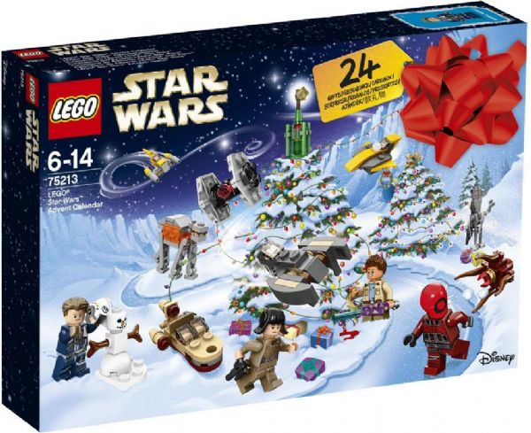 Image of   LEGO Star Wars Julekalender - LEGO Star Wars julekalender 75213