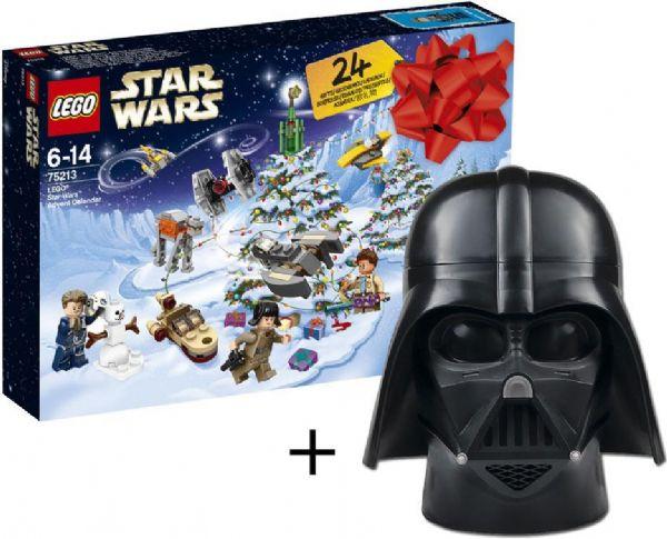 Image of   LEGO Star Wars Julekalender + opbevaring - LEGO Star Wars julekalender 75213X