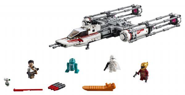Modstandsbevægelsens Y-wing-stjernejager - LEGO Star Wars 75249 - - LEGO