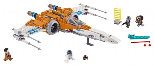 Image of   Poe Damerons X-wing-jager - LEGO Star Wars 75273