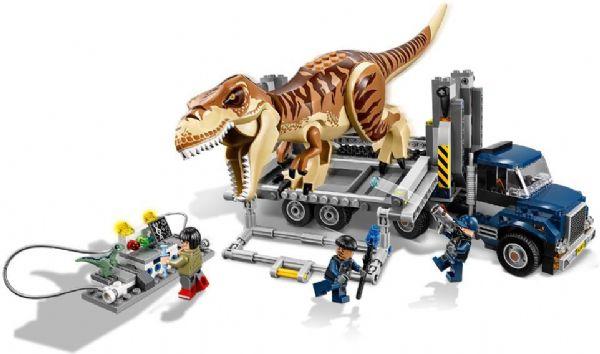 lego – T. rex-transport - lego jurassic world 75933 på eurotoys