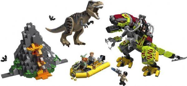 Image of Dinokamp: T. rex mod dinosaurrobot - Lego Jurassic World 75938 (22-075938)