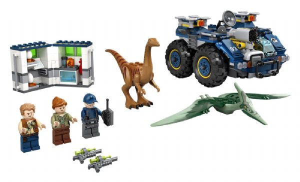 Gallimimus og pteranodon-flugt - LEGO Jurassic World 75940 - Byggeklodser - LEGO