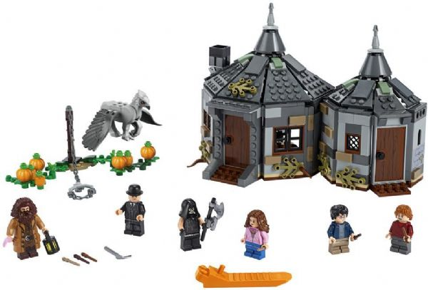Image of   Hagrids hytte: Stormvinds redning - LEGO Harry Potter 75947