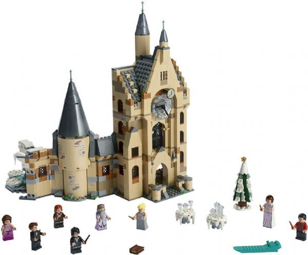 Image of   Hogwarts-klokketårn - LEGO Harry Potter 75948