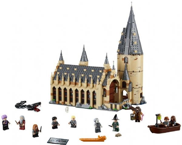 Image of   Hogwarts storsal - LEGO Harry Potter 75954