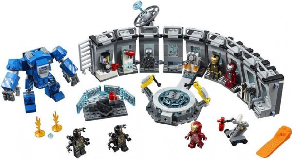 Image of   Iron Mans dragtgalleri - LEGO Super Heroes 76125