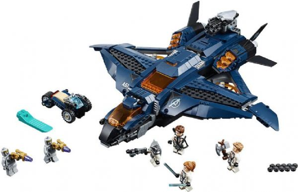 Image of   Avengers ultimative quinjet - LEGO Super Heroes 76126
