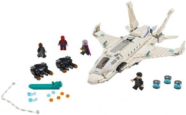 Stark-jetten og droneangrebet - LEGO Super Heroes 76130 - Byggeklodser - LEGO