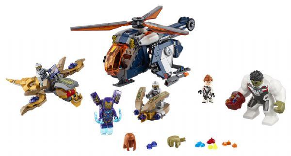 Image of   Avengers Hulk-helikopterredning - LEGO Super Heroes 76144