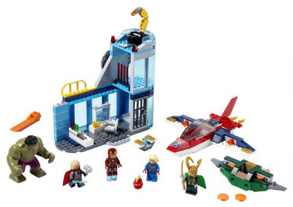 Avengers - Lokes vrede - LEGO Super Heroes 76152 - Byggeklodser - LEGO