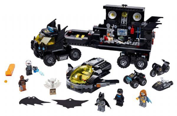 Mobil batbase - LEGO Super Heroes 76160 - Byggeklodser - LEGO