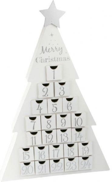 Image of   Julekalender Glædelig Jul - Pakkekalender træ 10540