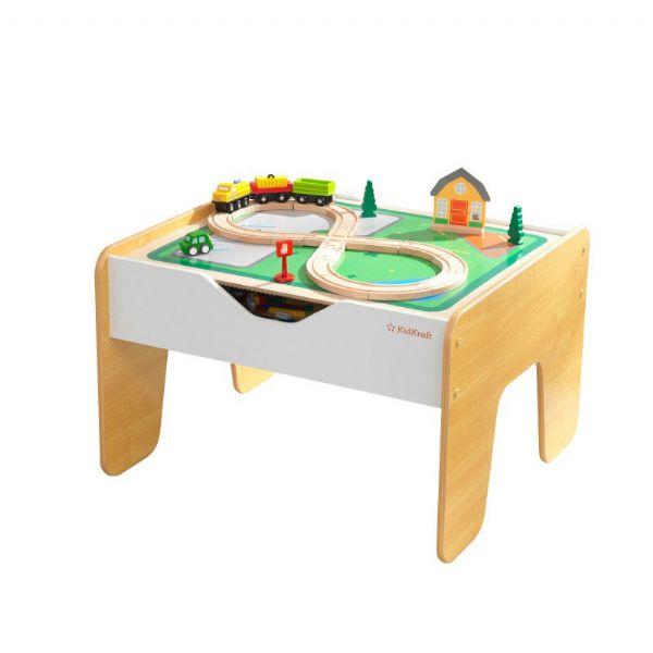 Image of   2i1 Aktivitetsbord m opbevaring - Kidkraft Børnemøbler 10039