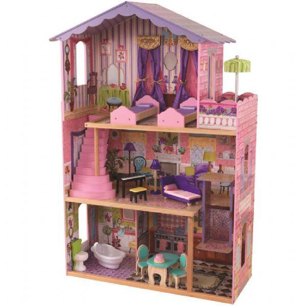 kidkraft – Dukkehus mit drømme palæ - kidkraft dukkehus 65082 fra eurotoys
